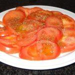 Au Vieux - Salade de Tomates Fraîches